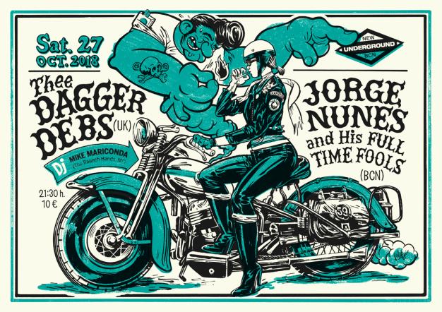 TheeDAGGERS-DEBS+NUNES_poster2