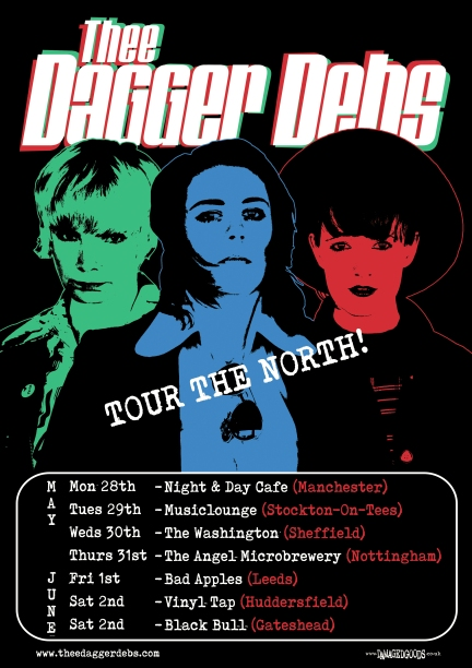 Tour the north poster